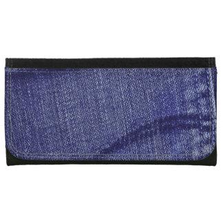 Textura retra azul del dril de algodón