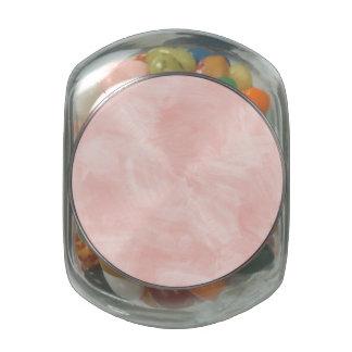 Textura retra de la acuarela del melocotón ligero jarras de cristal