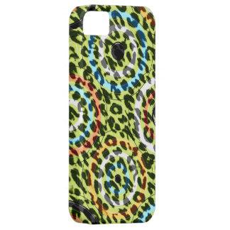 Textura retra del estampado de animales de los funda para iPhone SE/5/5s