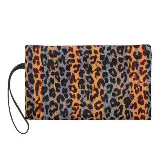 Textura retra del extracto de la piel del leopardo