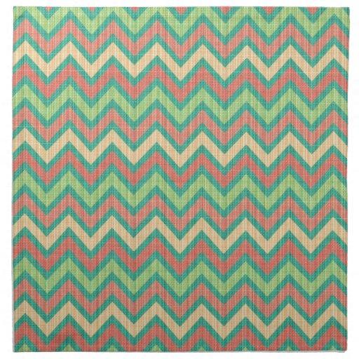 Textura retra en colores pastel colorida del servilletas