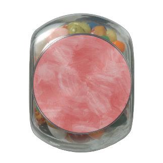 Textura retra rosada atractiva de la acuarela jarrones cristal