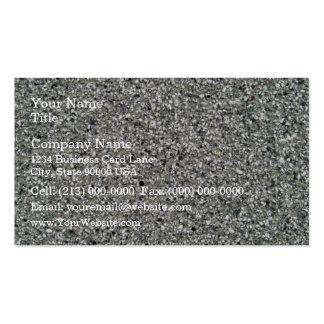Textura rocosa blanco y negro tarjetas de visita
