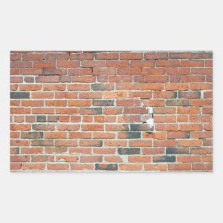 Textura roja de la pared de ladrillo del vintage
