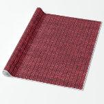 Textura roja del punto del suéter