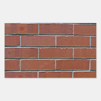 Textura roja inconsútil de la pared de ladrillo rectangular altavoces