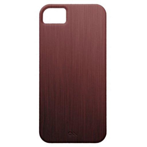 Textura roja iPhone 5 Case-Mate cobertura