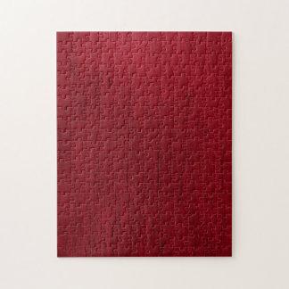 Textura roja retra del dril de algodón de los puzzle con fotos