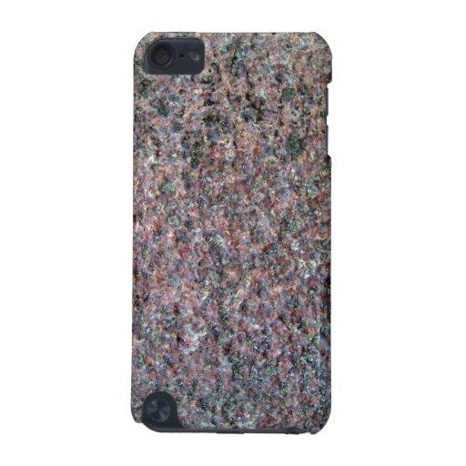 Textura roja y negra del assoretd del granito