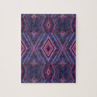 textura rosada azul elegante del diamante puzzle