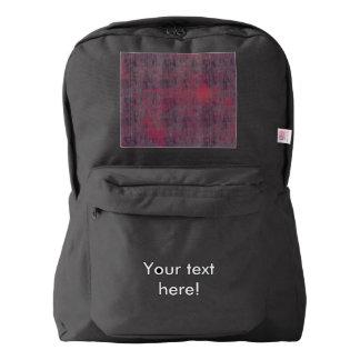 Textura rosada azul mochila