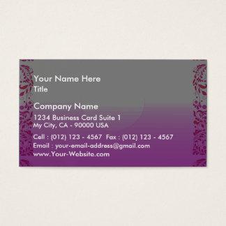 Textura rosada de la aclaración tarjeta de negocios