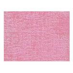 Textura rosada de la tela de felpilla postales