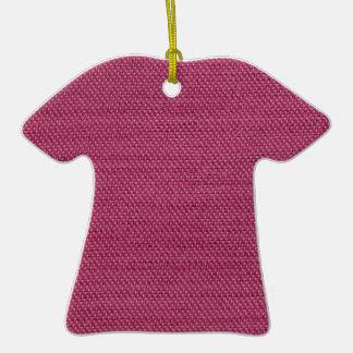 Textura rosada de la tela adorno