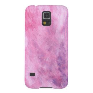 Textura rosada carcasa de galaxy s5