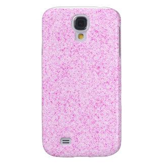 Textura rosada reluciente funda para galaxy s4