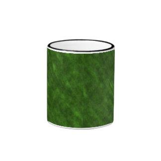 Textura sucia áspera del terciopelo: Verde Taza De Dos Colores