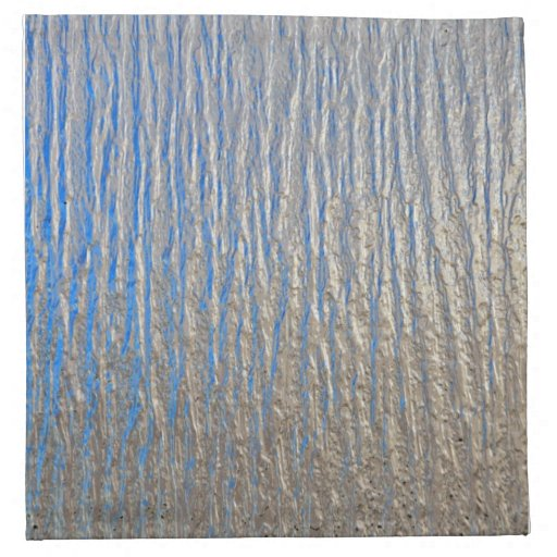 Textura superficial brillante con gris y azul servilleta de papel
