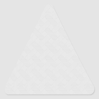 Textura tejida portilla cruzada sutil pegatina triangular