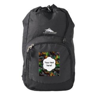 Textura tragada mochila