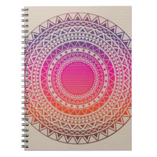 Textura tribal del vector inconsútil cuadernos