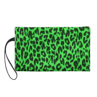 Textura verde del extracto de la piel del leopardo