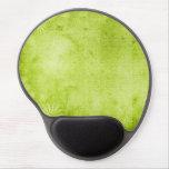 Textura verde del vintage alfombrillas de raton con gel