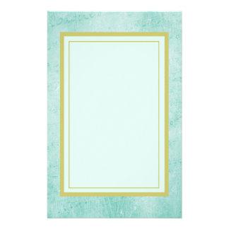 Textura verde descolorada del papel del vintage papeleria de diseño