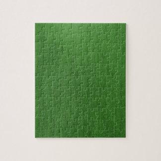 Textura verde retra del dril de algodón de los rompecabezas con fotos