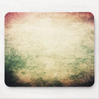 Textura verde roja del vintage del Grunge de Mouse Mousepads