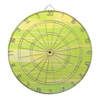 Textura verde y amarilla tablero dardos