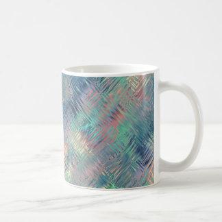 Textura vidriosa azul del Alexandrite Taza