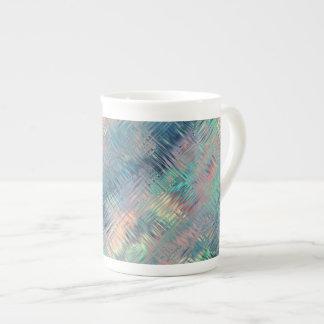 Textura vidriosa azul del Alexandrite Taza De Porcelana