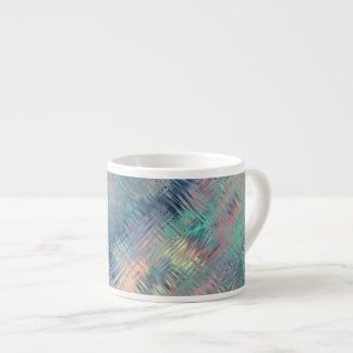 Textura vidriosa azul del Alexandrite Taza Espresso