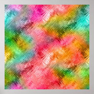 Textura vidriosa del Tourmaline colorido Impresiones
