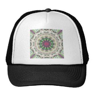 Textural Circular Abstract Trucker Hat