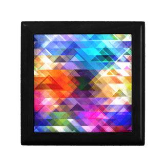 Textural Geometry of Color Keepsake Box