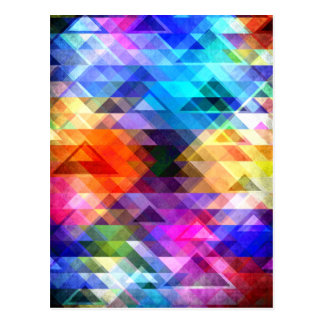 Textural Geometry of Color Postcard