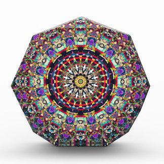 Textural Kaleidoscope of Colors Acrylic Award