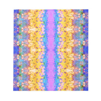 Textural Stripes Abstract Notepad