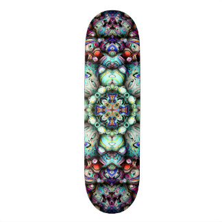 Textural Surfaces of Symmetry Skateboard