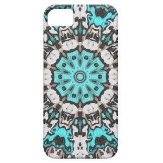 Textural Turquoise Mandala iPhone SE/5/5s Case