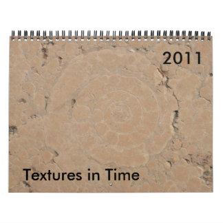 Texturas a tiempo 2011 calendario