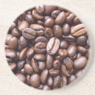 Texturas naturales - grano de café posavasos cerveza
