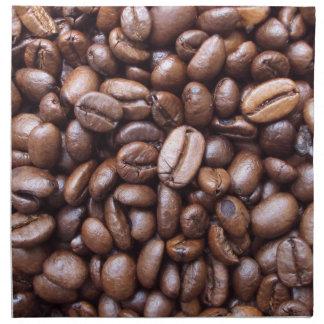 Texturas naturales - grano de café servilletas