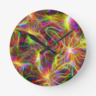 texture-209414  texture structure pattern colorful round wallclock