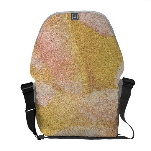 Texture Abstract Messenger Bag