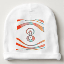 texture  and abstract background baby beanie