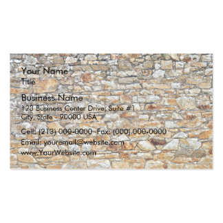 Texture and Pattern Of Natural Stone Wall Business Cards