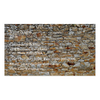 Texture and Pattern Of Natural Stone Wall Business Card